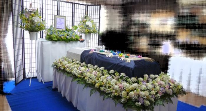 家族葬施行例-2 ご自宅でお別れの会