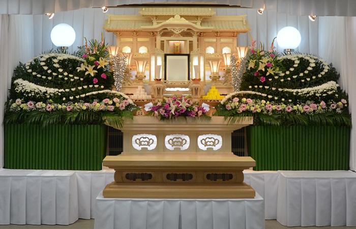 家族葬施行例-3 公益ホール