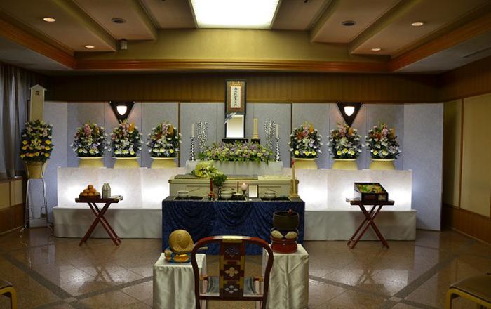 家族葬施行事例1 家族葬